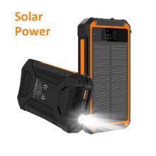 Bestes Solar Power Bank Solarbetriebenes Telefonladegerät