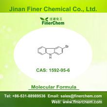 Cas 1592-95-6 | 3-Bromo-9H-carbazole | OLED intermediário | 1592-95-6 | preço de fábrica; Grande estoque