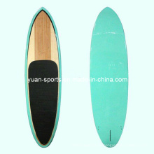 Stand up Paddle Sup Board, Surfboard with Bamboo Veneer Top