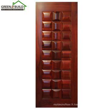 Porte intérieure en bois de chêne de Guangzhou Design Prix