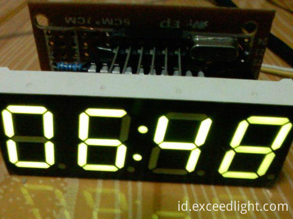 Clock Digit Display