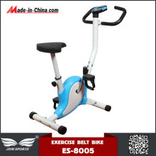 New Arrival Mini Stationary Upright Belt Drive Bike for Home