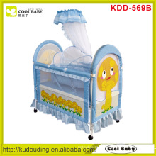 Mushroom printing NEW Baby Crib , Inner cradle with mosquito net
