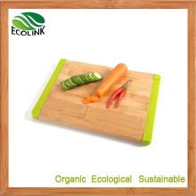 Anti-Slip Silicone Bamboo Cutting Board