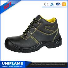 Hombre PU suela impermeable botas de seguridad precio