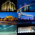 LED-Flutlicht im Freien mit PIR, imprägniern 10W 20W 30W 50W 80W 100W LED Sensor-Licht
