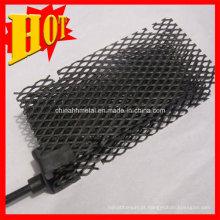O tratamento da água platina o ânodo Titanium, eletrodo Titanium