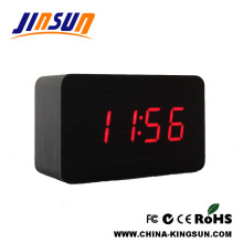 Square LED Digital Alarm Clock