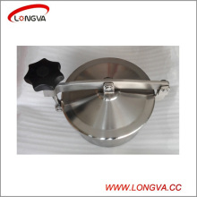 Sanitary Stainless Steel Pipe Fittings Circular Non-Pressure Tank Manway