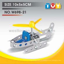DIY металл и пластик мода мини вертолет образовательные игрушки