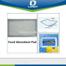 Almohadilla absorbente de alimentos (segura y saludable)