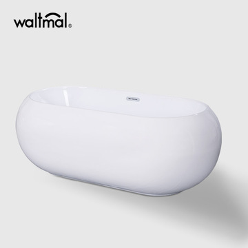 Soho Centre Drain Soaking Tub dengan Edge sempit