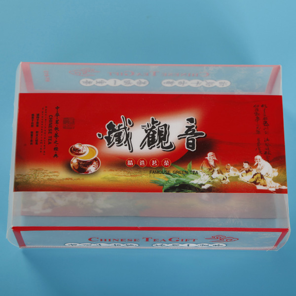PET Food Grade Material Printing Box para chá