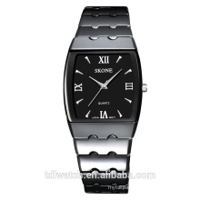 Rectangular shape couple watch with Japan movt