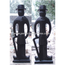Carved Abstract Sculpture for Garden Stone Carving Marble Statue (SY-A033)