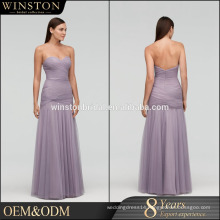 Bridal dresses New 2016 violet color evening dress