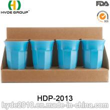 Copo de fibra de bambu plástico reutilizável ecológico (HDP-2013)