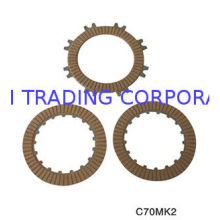 High-strength Aluminum Alloy Motorcycle Parts Clutch Plates Friction With 17 Teeth C70