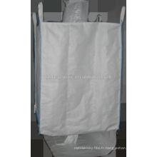 Acceptez le sac jumeau de haute qualité de récipient en vrac intermédiaire flexible de commande faite sur commande pour le sable, le riz, le ciment,