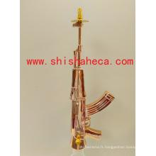 Ak47 Style Top Qualité Nargile Fumer Pipe Shisha Narguilé