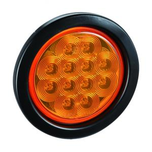 "4"" Round LED Trailer Truck Indicator Lamp"