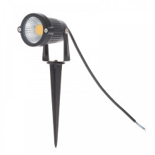 IP65 Garten-LED AC220V 110V DC / Wechselstrom 12V 5W PFEILER Rasen-Teich-Weg-Landschaft 7w führte Spikelicht