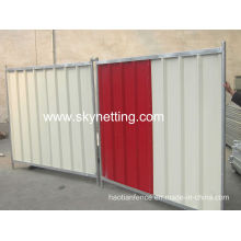 Solid and Strong Steel Event Hoarding Panels