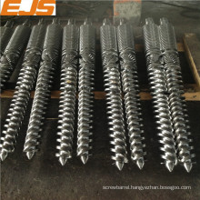High-quality bimetallic parallel twin screw and barrel for PVC extrusion machine