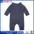 New Long Sleeve Stripes Infant Onesie Cheap Baby Clothes (YBY116)