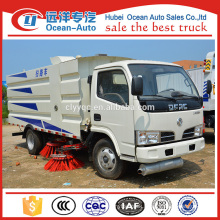 DFAC 5.5cbm new condition mechanical sweeper/road sweeper truck for sale