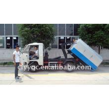 Съемный контейнерный мусоровоз