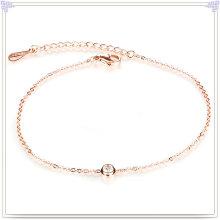 Aço inoxidável jóias pé cadeia moda tornozeleiras (ch014)