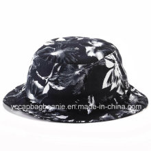Floral Bucket Hat with Sublimation Printing