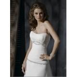 Wholesale brand new customized strapless wedding dress
