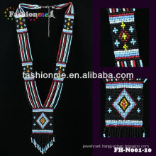 Fashionme FH-N001 small beaded necklace 2014