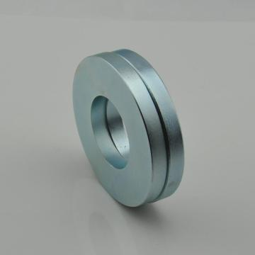 Discount Price Pet Film for Multipole Ring Magnet Zinc coated Neodymium speaker ring magnet supply to Mexico Manufacturer