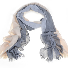 100%Superfine Polyester Scarf (14-BR012513-1.1)