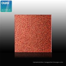 OLEG Decorative Glitter Cast Acrylic Sheet Factory Price 3mm PE Film Wrapping Gloss Decoration