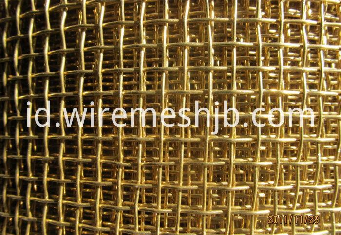 High Quality Brass Wire Cloth