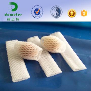 Fabrication tubulaire molle jetable de Cushioning en plastique bon marché pour la protection et l'affichage de fruit dans le transport ou le supermarché