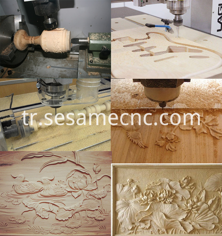 woodworking cnc Series