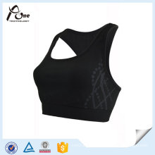 91%Nylon 9% Spandex Women Running Bra