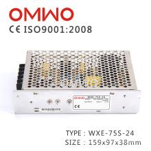 Переменного тока/источник питания постоянного тока Wxe-75-й-24 импульсный источник питания