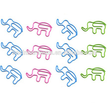 Fashion High Quality Metal Elephant Paper Clips