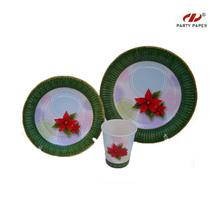 Christmas Party Paper Tableware Sets