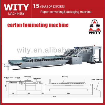 Automatic Corrugated Board Laminating Machine