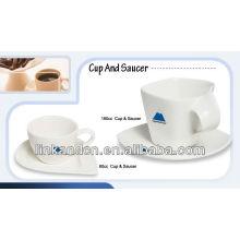 KC-00420 / tasse / tasse de céramique promotionnelle et soucoupe