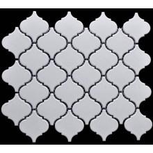 White Lantern Shape Porcelain Mosaic
