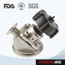 Vanne de diaphragme de fond de réservoir sanitaire en acier inoxydable (JN-DV1009)