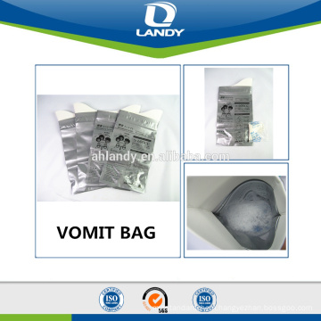 EASY HANDLE FOR ALL PEOPLE TRAVEL DISPOSABLE URINE BAG VOMIT BAG